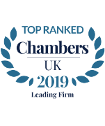 Top Ranked Leading Individual - Chambers UK 2019